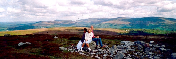 Mike, Lyn and me wales