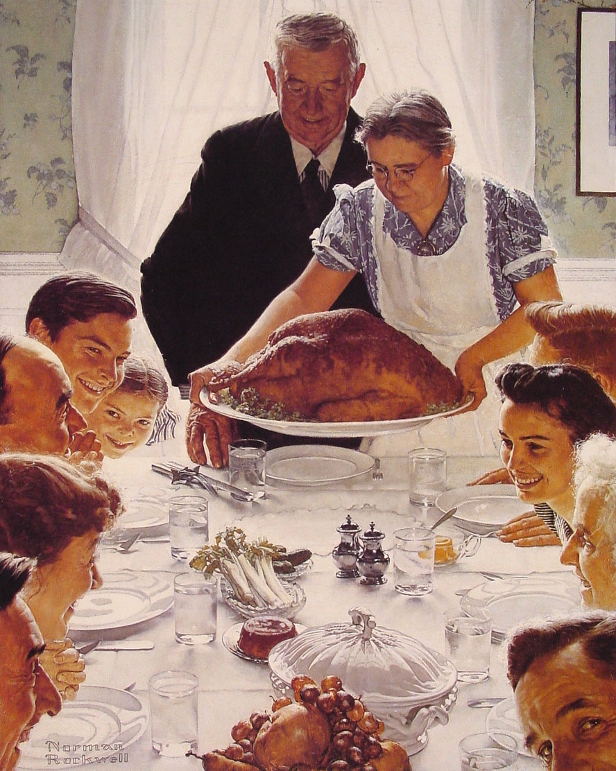 Freedom from Want - Norman Rockwell - 1943