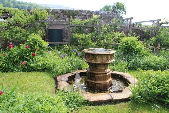 garden tretower