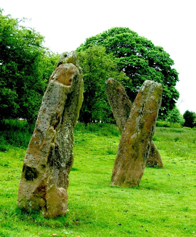 harolds stones trellech